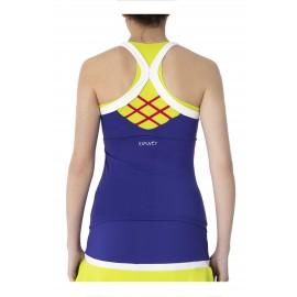 Camiseta deportiva  ajustada Emwey | Pádel y Tenis.