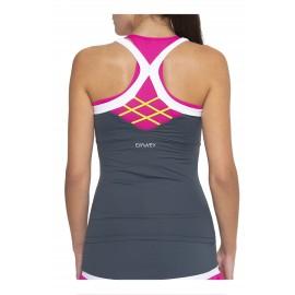 Camiseta deportiva  ajustada Emwey   Pádel y Tenis.